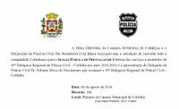 Convite: Prestação de Contas 49ª DRP